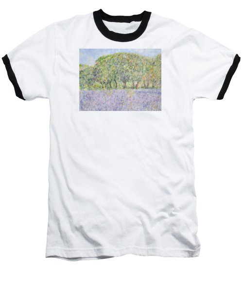 Blue Bonnets  Field In  Texas Baseball T-Shirt