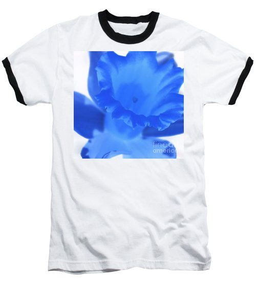 Baseball T-Shirt featuring the photograph Blue Daffodil by Andy Prendy