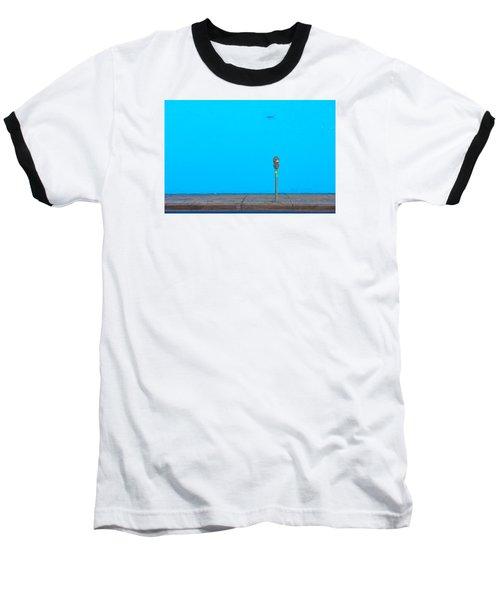 Blue Wall Parking Baseball T-Shirt