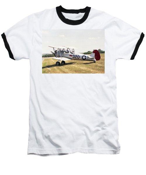 Boeing Stearman Baseball T-Shirt