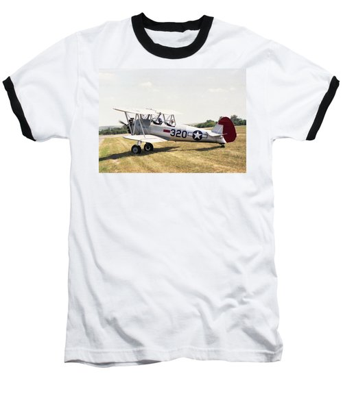 Boeing Stearman Baseball T-Shirt