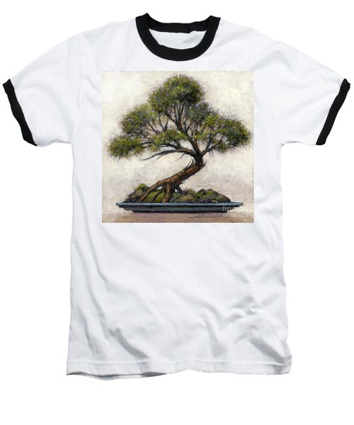 Bonsai Cedar Baseball T-Shirt