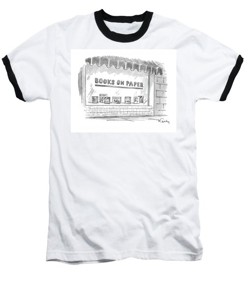 'books On Paper' Baseball T-Shirt
