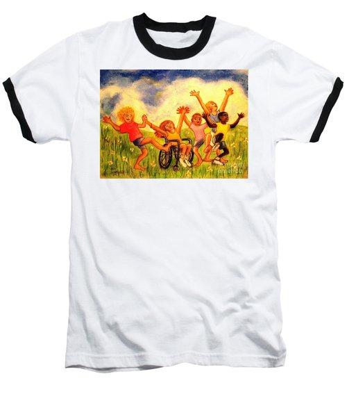 Born To Be Free Baseball T-Shirt