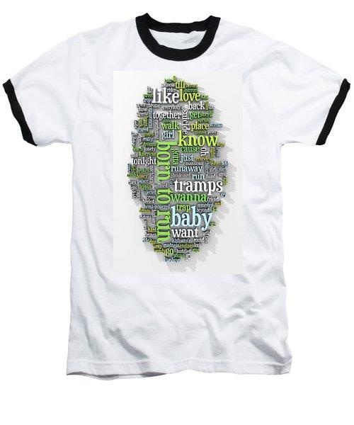 Born To Run Baseball T-Shirt