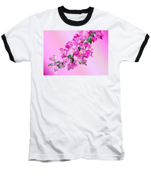 Baseball T-Shirt featuring the photograph Bougainvillea by Kristin Elmquist