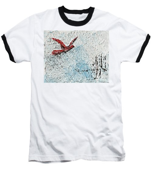 Bound To Fly Baseball T-Shirt