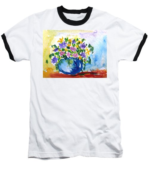 Bouquet Of Flowers In A Vase Baseball T-Shirt
