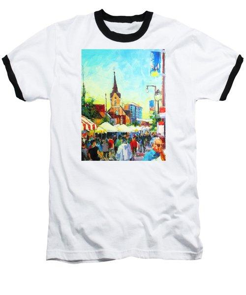 Brady Street Baseball T-Shirt by Les Leffingwell