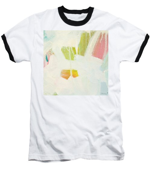 Baseball T-Shirt featuring the painting Breakwater  C2013 by Paul Ashby