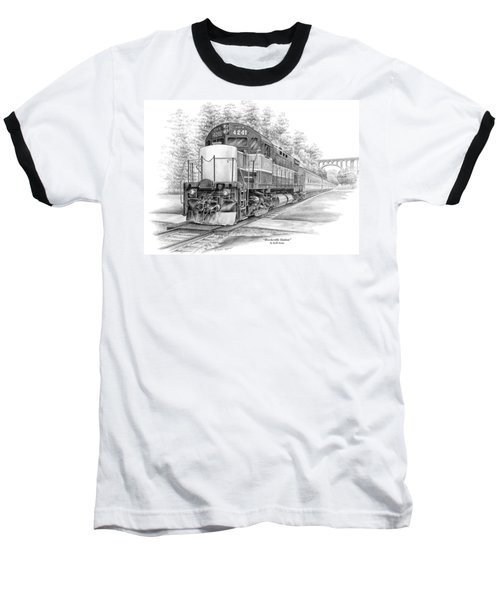 Brecksville Station - Cuyahoga Valley National Park Baseball T-Shirt by Kelli Swan