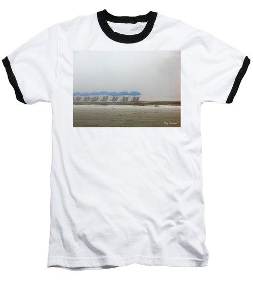 'brella Pattern Baseball T-Shirt by Kay Lovingood