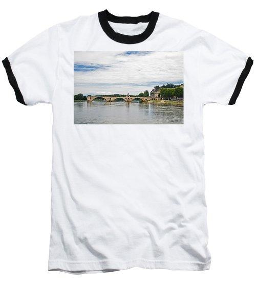 Bridge At Avignon Baseball T-Shirt