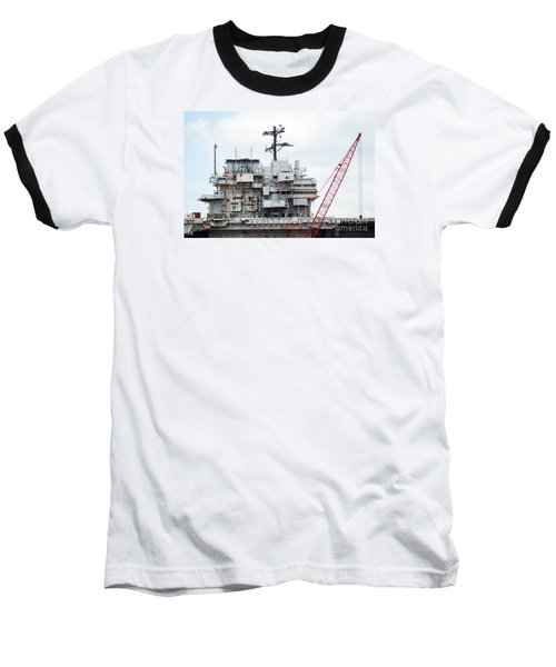 Uss Forrestal Bridge Baseball T-Shirt