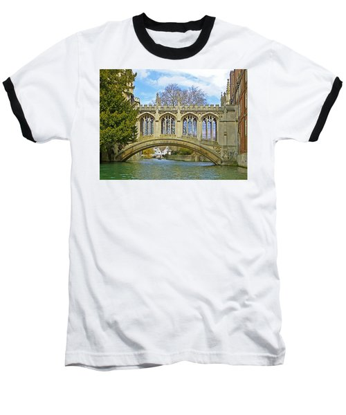 Bridge Of Sighs Cambridge Baseball T-Shirt