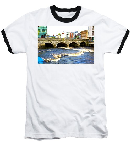 Bridge On The Garavogue Baseball T-Shirt