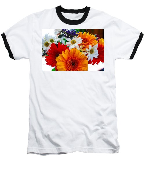 Baseball T-Shirt featuring the photograph Bright by Angela J Wright