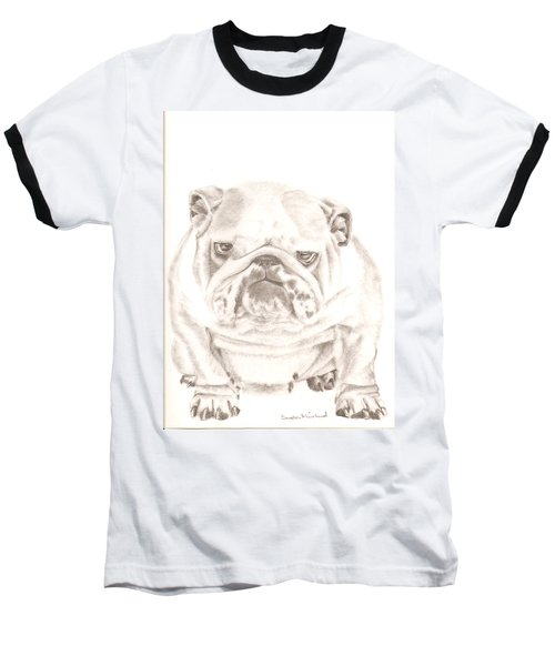 British Bulldog Winnie Baseball T-Shirt
