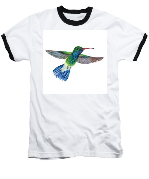 Broadbilled Fan Tail Hummingbird Baseball T-Shirt