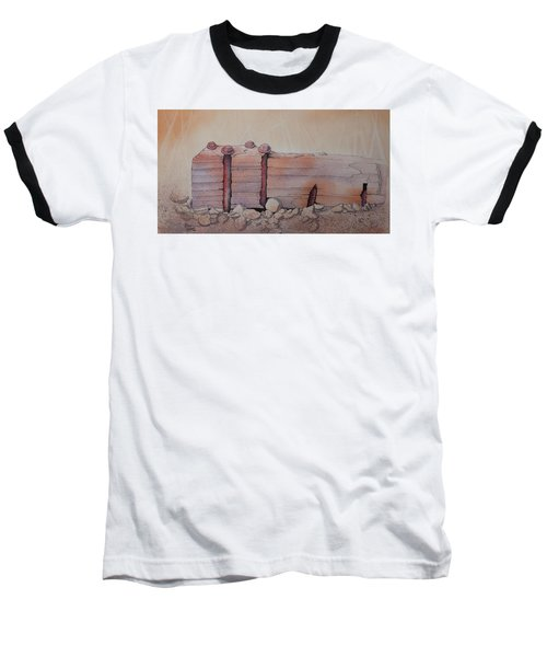 Broken Dock Seward Alaska Baseball T-Shirt