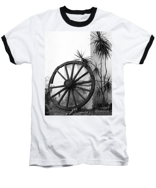 Broken Wheel Baseball T-Shirt