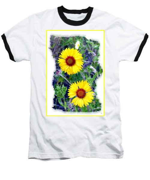 Brown- Eyed Susans Baseball T-Shirt