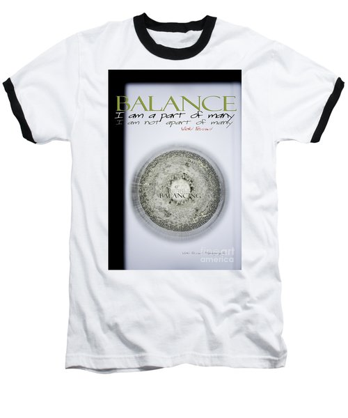 Bubbles Balance Bubbles Baseball T-Shirt