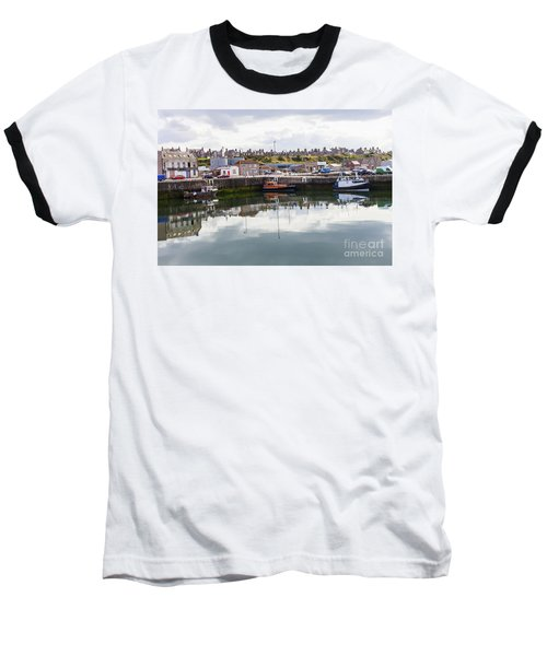 Buckie Harbour Baseball T-Shirt