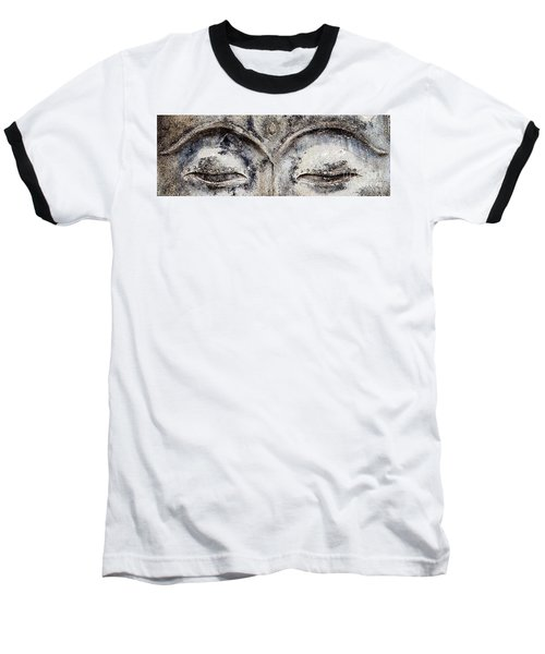 Baseball T-Shirt featuring the photograph Buddha Eyes by Roselynne Broussard