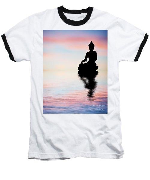 Buddha Reflection Baseball T-Shirt