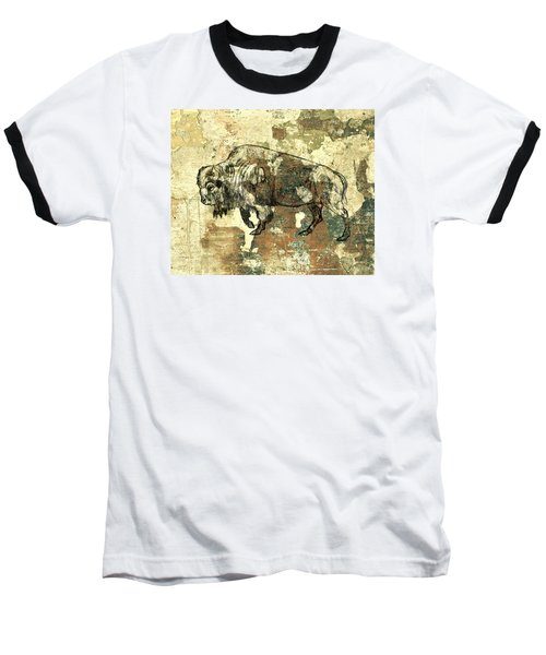 Baseball T-Shirt featuring the photograph Buffalo 7 by Larry Campbell