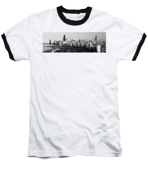Buildings In A City, View Of Hancock Baseball T-Shirt