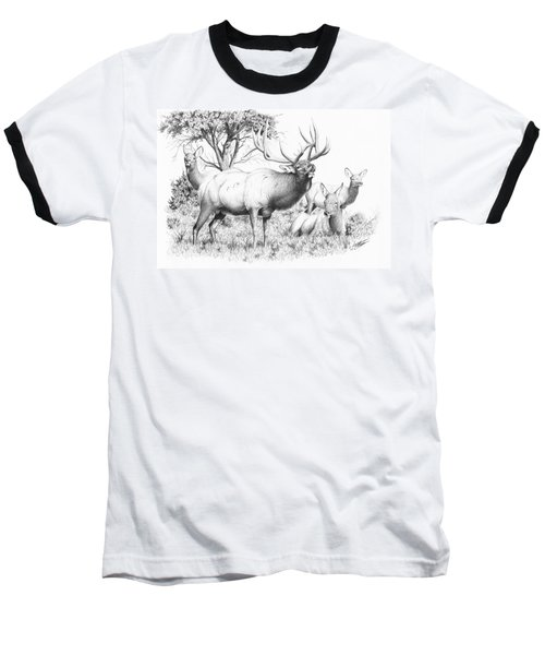 Bull And Harem Baseball T-Shirt