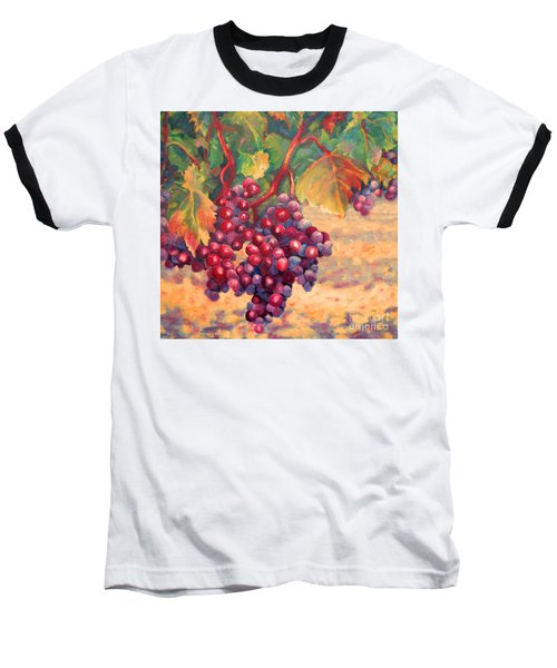 Bunch Of Grapes Baseball T-Shirt
