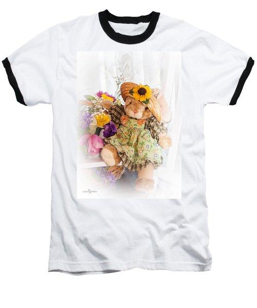 Bunny Expressions Baseball T-Shirt