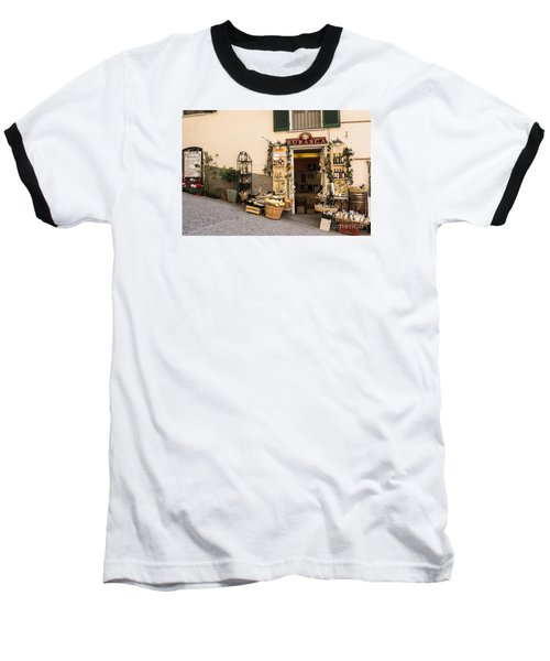 Burasca Shop Of Manarola Baseball T-Shirt