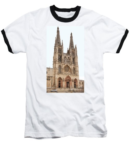 Burgos Cathedral Spain Baseball T-Shirt by Rudi Prott