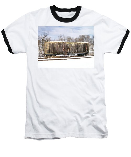 Baseball T-Shirt featuring the photograph Burnt by Sara  Raber