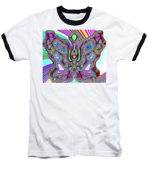 Butterfly Groove Baseball T-Shirt