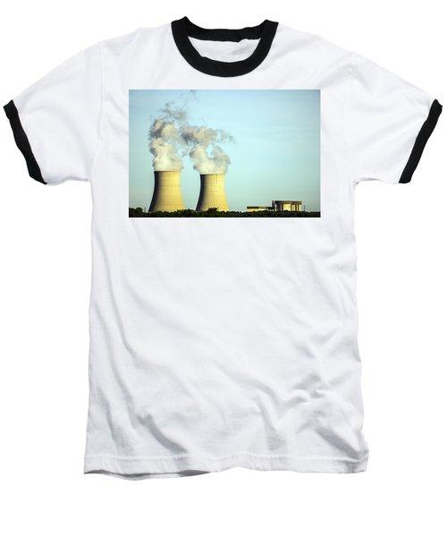 Byron Nuclear Plant Baseball T-Shirt