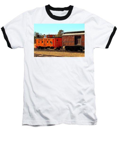 Caboose And Car Baseball T-Shirt
