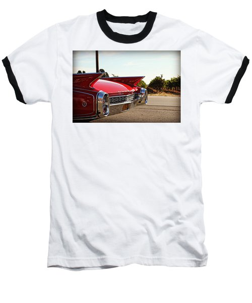 Cadillac In Wine Country  Baseball T-Shirt