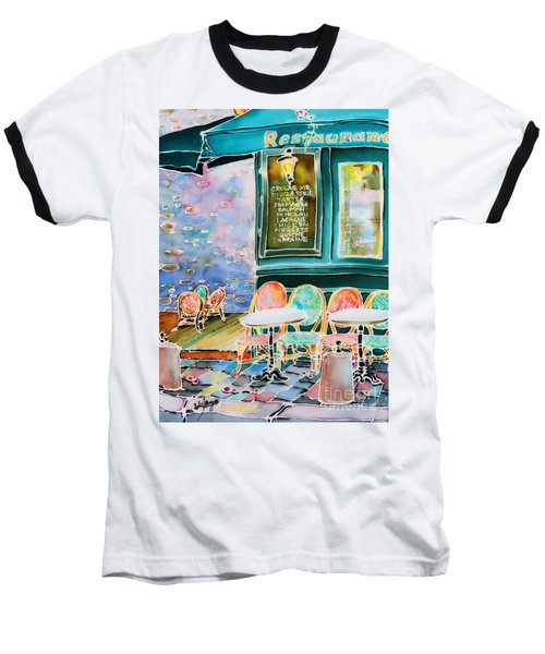 Cafe In Montmartre Baseball T-Shirt