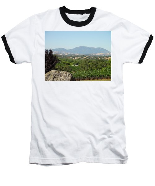 Baseball T-Shirt featuring the photograph Cali View by Shawn Marlow