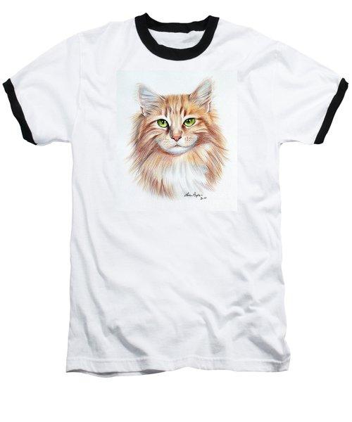 Calico Cat Baseball T-Shirt