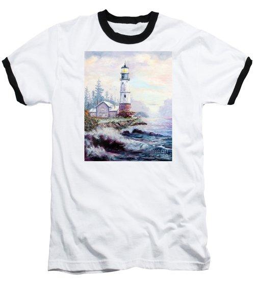 California Lighthouse Baseball T-Shirt