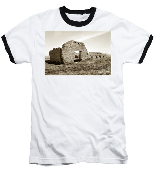 Soledad  California Mission  Monterey Co. Circa 1900 Baseball T-Shirt