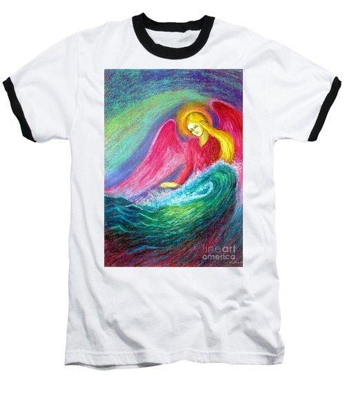 Calming Angel Baseball T-Shirt