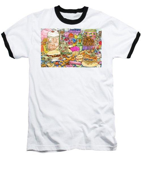 Calorie Gremlins Baseball T-Shirt