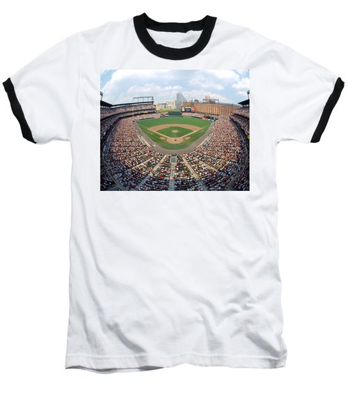 Camden Yards Baltimore Md Baseball T-Shirt by Panoramic Images